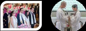 サンクチュアリ教会が行っている祝福式 (写真引用:「三代王権・真の御父様に帰ろう!」ブログ)